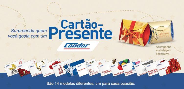 Cartão-presente Condor