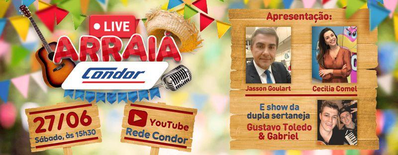 Condor realiza Festa Junina online