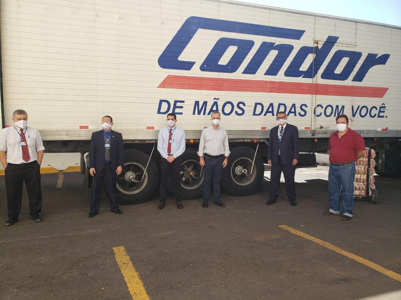 Condor doa quase 10 toneladas de alimentos para Maringá