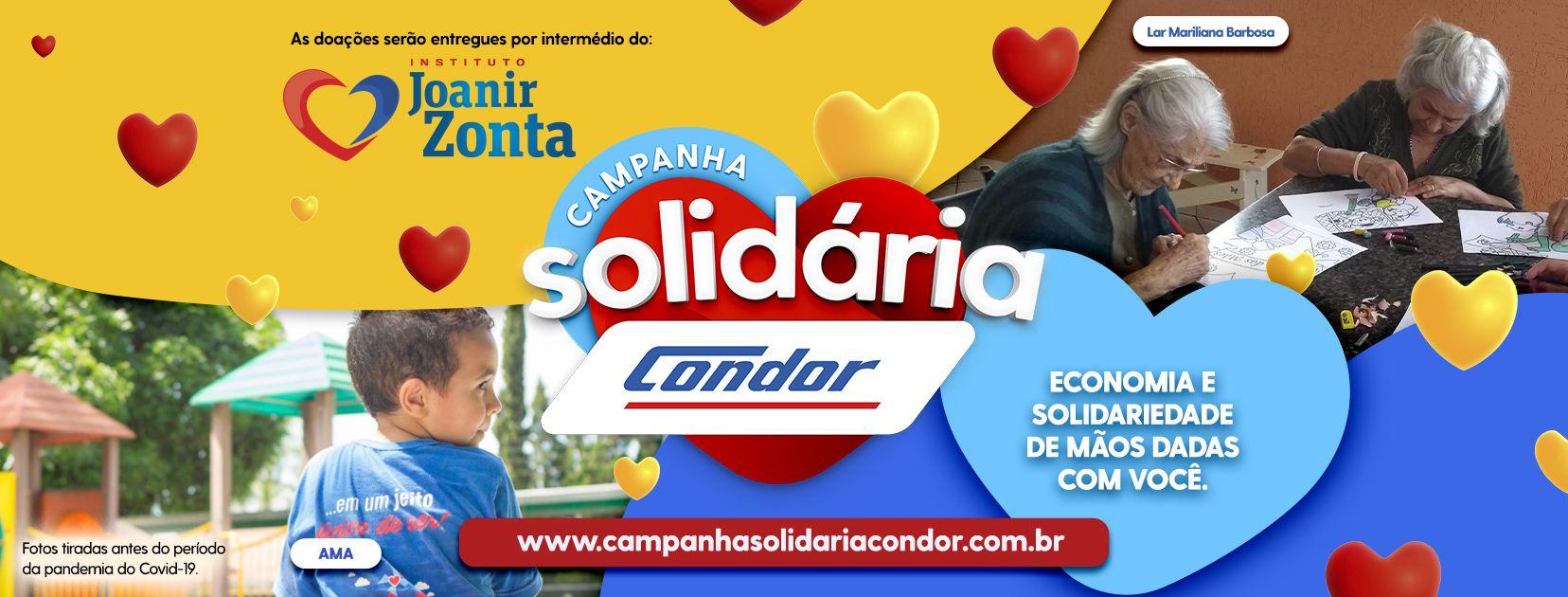 Campanha Solidária Condor vai ajudar 25 instituições do Paraná e Santa Catarina