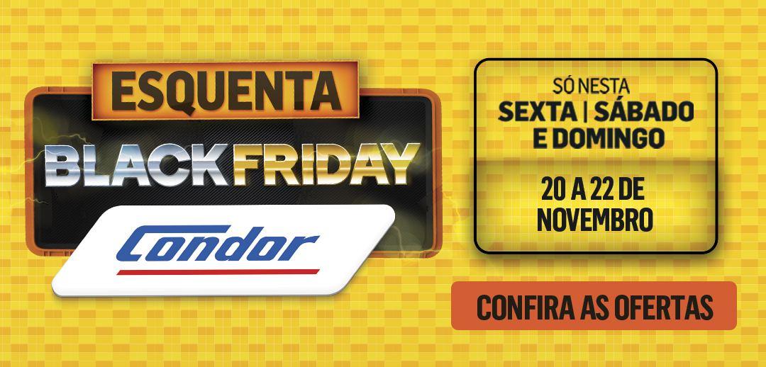 Condor realiza Esquenta Black Friday com ofertas agressivas