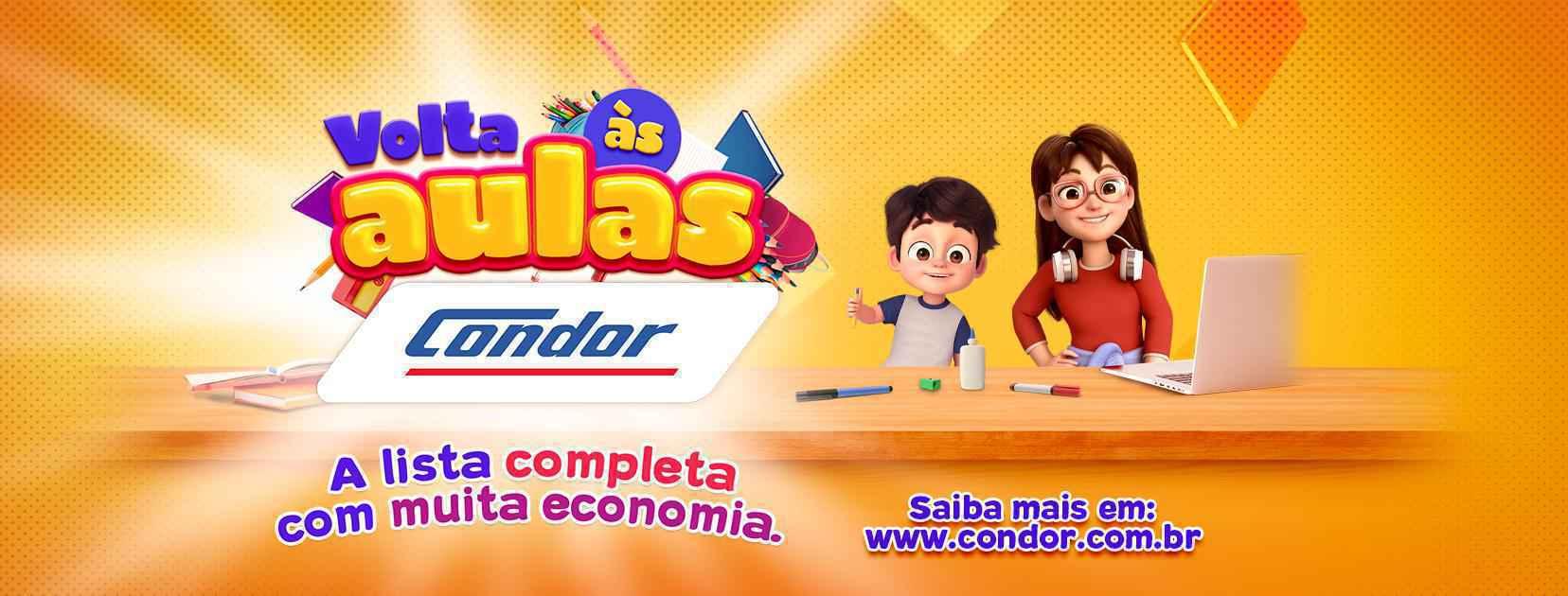 Condor inicia campanha de Volta às Aulas